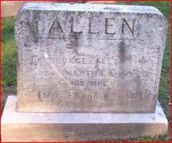 Mrs Martha A. Allen