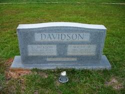 Maude <I>Dobbins</I> Davidson