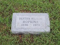 Lela Bertha <I>Wilson</I> Hopkins
