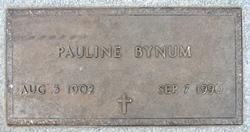 Pauline Bynum