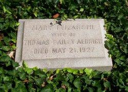 """Mary Elizabeth """"Lily"""" <I>Woodman</I> Aldrich"""