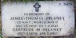 Gertrude M Delaney