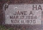 Jane <I>Adamson</I> Hart