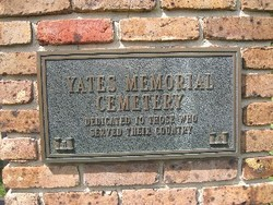 Yates Memorial Cemetery