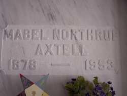 Mabel <I>Northup</I> Axtell