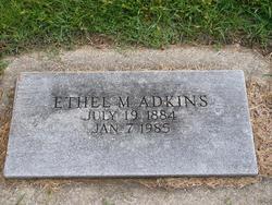 Ethel M Adkins