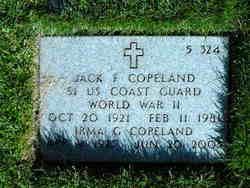 Jack F Copeland