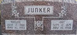 Adeline Helgert <I>Elgert</I> Junker