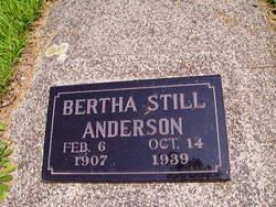 Bertha Estella <I>Still</I> Anderson