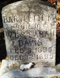 Bartlett M Davis