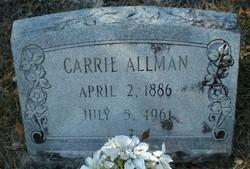 Carrie Adele <I>Sharpe</I> Allman