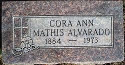 Cora Ann <I>Mathis</I> Alvarado