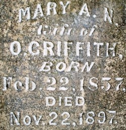 "Mariannetta ""Mary"" <I>Key</I> Griffith"