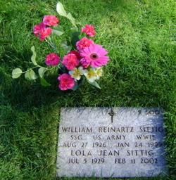 William Reinartz Sittig