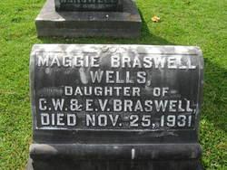 """Margaret """"Maggie"""" <I>Braswell</I> Wells"""