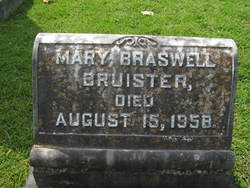 Mary Elizabeth <I>Braswell</I> Bruister