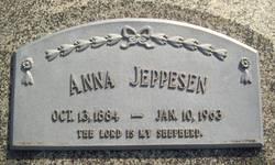 Anna <I>Jensen</I> Jeppesen