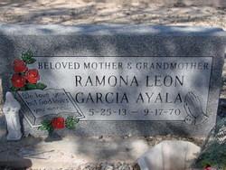 Ramona Garcia <I>Leon</I> Ayala