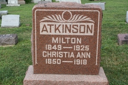 Christia Ann <I>Catey</I> Atkinson