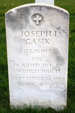 Joseph I Gasik