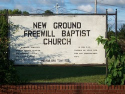 New Ground Freewill Baptist Church Cemetery