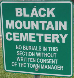 Black Mountain City Cemetery