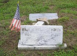 Sgt Billy Mack Hollingsworth