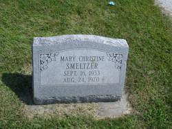 Mary Christine Smeltzer