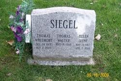 Helen Irene <I>Fabian</I> Siegel