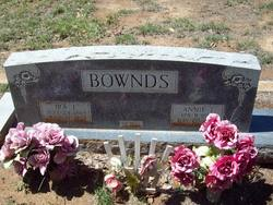 Annie Isabelle <I>Waters</I> Bownds