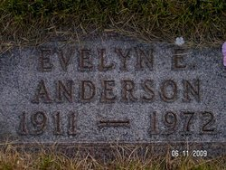 Evelyn E <I>Swanson</I> Anderson