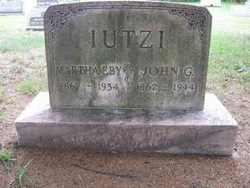 Martha <I>Eby</I> Iutzi