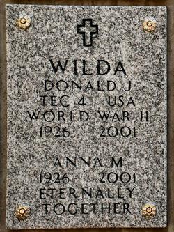 Donald J Wilda