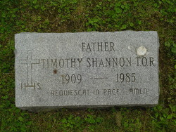 Rev Timothy Shannon