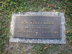 Roy Westley Allen