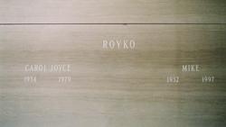 Carol Joyce <I>Duckman</I> Royko