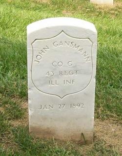 Pvt John Gansmann