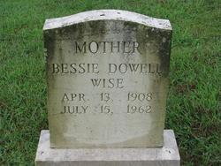 Bessie Dowell Wise
