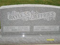 Geneva Clay <I>Smith</I> Bayless