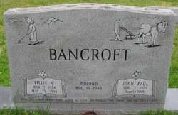 John Paul Bancroft