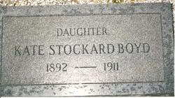 Kate <I>Stockard</I> Boyd