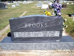 Ruby Helen <I>Wheeler</I> Brooks