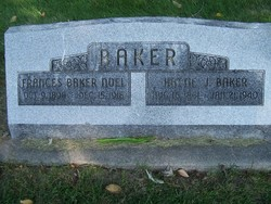 Hattie Jane <I>Nickerson</I> Baker