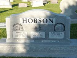 Barbara <I>Bullock</I> Hobson