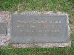 Wanda <I>Garner</I> Alder