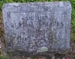 Bertha J. Woodard <I>Mapes</I> Baker