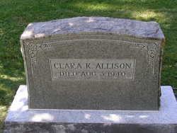 Clara K <I>Thompson</I> Allison