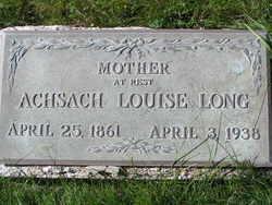 "Achsach Louise ""Lou"" <I>Moore</I> Long"