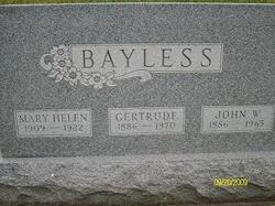 Gertrude Anna <I>Patton</I> Bayless