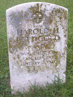 "Harold Homer ""Jack"" Petticord"